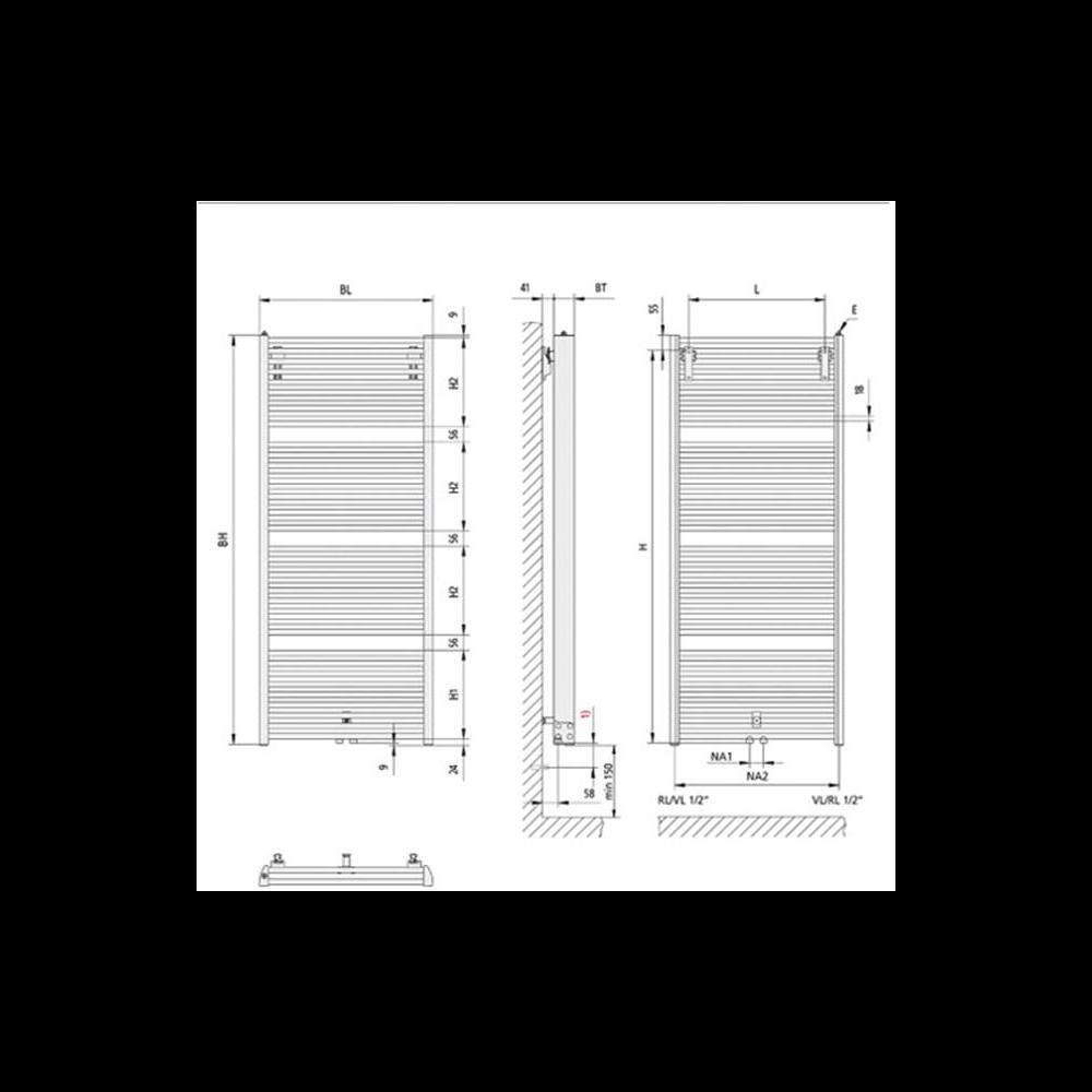 Full Size of 2 Heizkörper Für Bad Elektroheizkörper Badezimmer Wohnzimmer Wohnzimmer Kermi Heizkörper