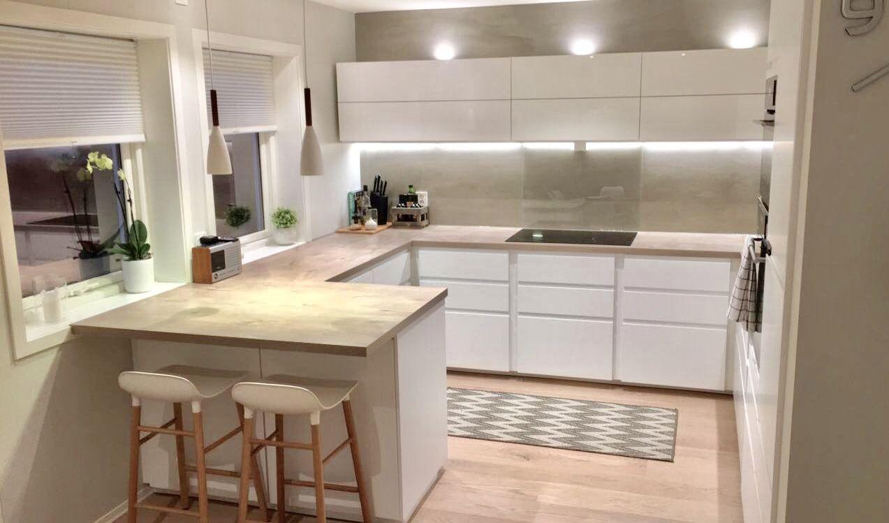 Full Size of Offene Küche Ikea Voxtorp Schmidt Kitchen Ikeahack Einbauküche Kaufen Gardinen Für Massivholzküche Läufer Waschbecken Landhaus Weisse Landhausküche Wohnzimmer Offene Küche Ikea