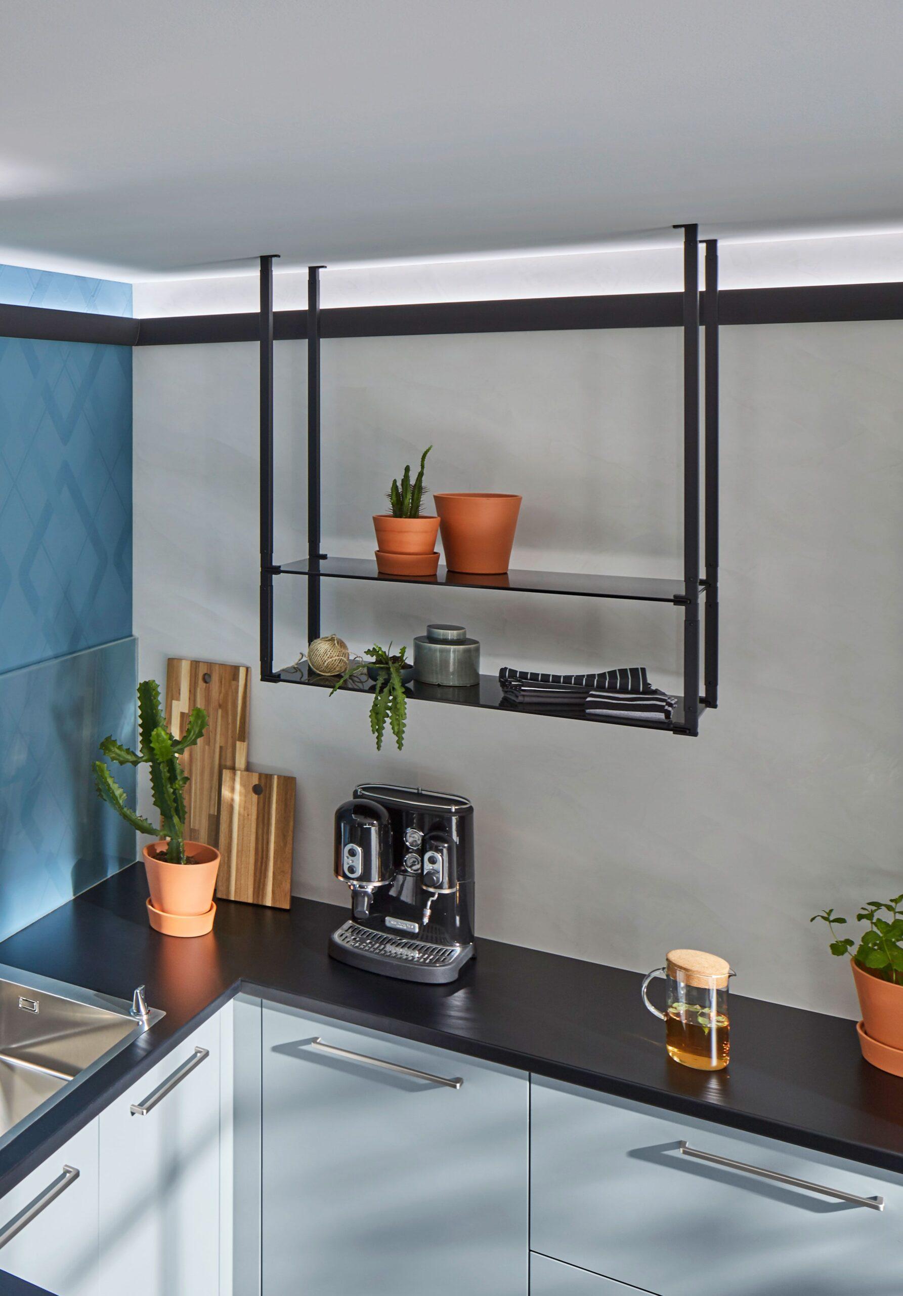 Full Size of Hängeregal Kücheninsel Praktisch Skchenregal Hngeregal Deckenregal Küche Wohnzimmer Hängeregal Kücheninsel
