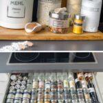 Gewürze Schubladeneinsatz Aufbewahrung Schublade Ikea Kche Küche Wohnzimmer Gewürze Schubladeneinsatz