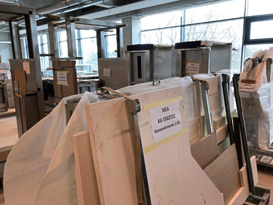 Large Size of Barrierefreie Küche Ikea Karlsruher Ffnet Am 9 Juli So Sieht Es Aktuell Auf Der Wasserhahn Gebrauchte Einbauküche Ohne Kühlschrank Hängeregal Wohnzimmer Barrierefreie Küche Ikea