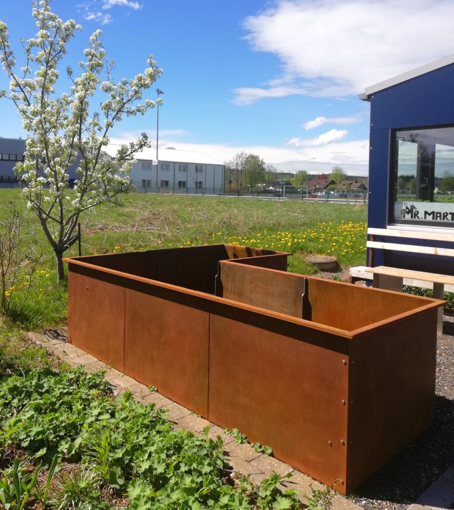 Full Size of Designwerkstatt Schneider Edelstahlküche Gebraucht Garten Hochbeet Outdoor Küche Edelstahl Wohnzimmer Hochbeet Edelstahl