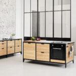 Werk Modulkche Im Industrial Style Jan Cray Mbel Und Kchen Küchen Regal Freistehende Küche Wohnzimmer Freistehende Küchen