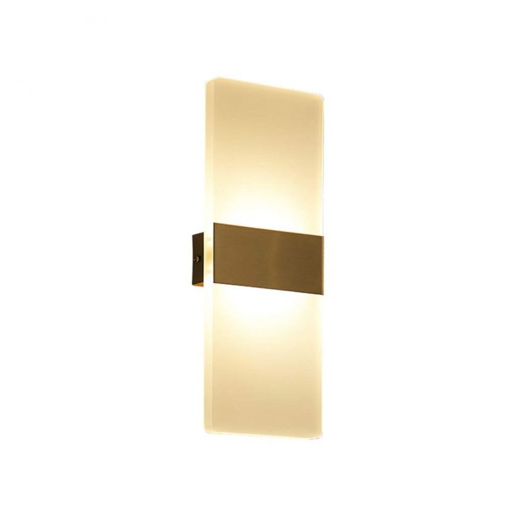 Medium Size of Wandleuchte Led Innen 12w Wandlampe Acryl Wandbeleuchtung Modern Tapeten Schlafzimmer Lampen Rauch Weiss Set Mit Matratze Und Lattenrost Gardinen Deckenleuchte Wohnzimmer Wandlampen Schlafzimmer
