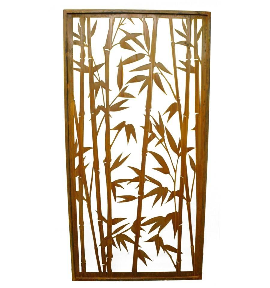 Full Size of Rost Sichtschutz Offener Bambus Paravent Hhe 200 Cm Gertehaus Bett Garten Wohnzimmer Paravent Bambus