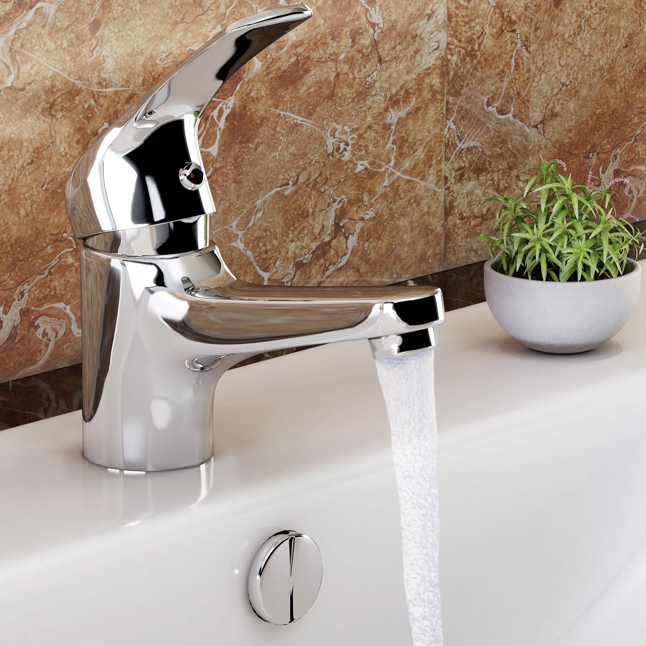 Full Size of Wasserhahn Anschluss Vilstein Waschtischarmatur Armatur Küche Wandanschluss Für Bad Wohnzimmer Wasserhahn Anschluss