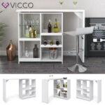 Vicco Bartisch Vega Wei Bartresen Stehtisch Tisch Real Küche Küchen Regal Wohnzimmer Küchen Bartisch