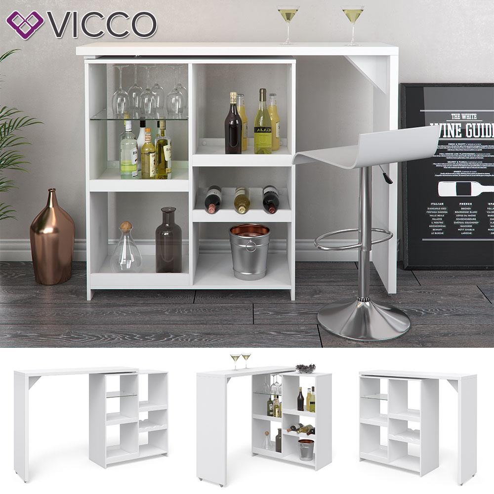 Full Size of Vicco Bartisch Vega Wei Bartresen Stehtisch Tisch Real Küche Küchen Regal Wohnzimmer Küchen Bartisch
