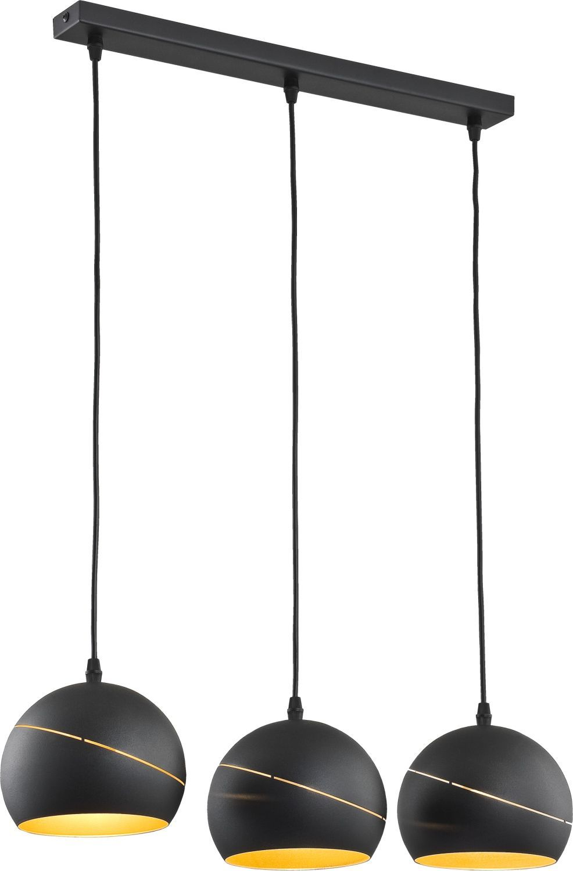 Full Size of Lampe Modern Hngeleuchte Lang 60cm Schwarz Gold Metall 3 Flmg Yuri Moderne Lampen Schlafzimmer Wandlampe Bad Deckenlampen Wohnzimmer Deckenlampe Esstisch Wohnzimmer Lampe Modern