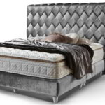 Chesterfield Bett Samt Grau Schwarz 200x200 Luxus Klassiker Velvet Buche Günstig Betten Kaufen Ikea 160x200 Clinique Even Better Make Up Komplett Küche Wohnzimmer Chesterfield Bett Samt Grau