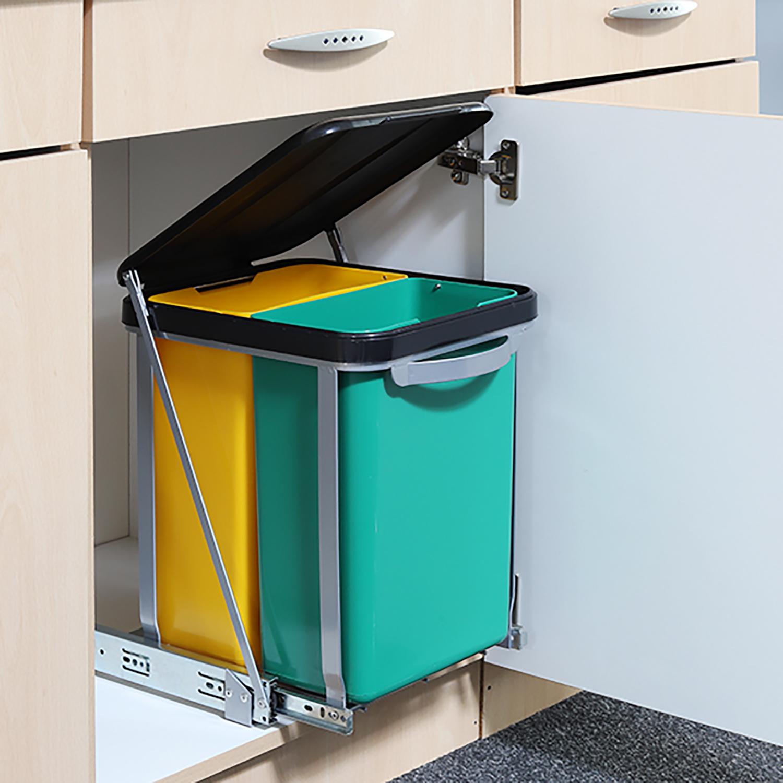 Full Size of Doppel Mülleimer Mlleimer Kche Einbau Amazon Verbergen Küche Doppelblock Wohnzimmer Doppel Mülleimer