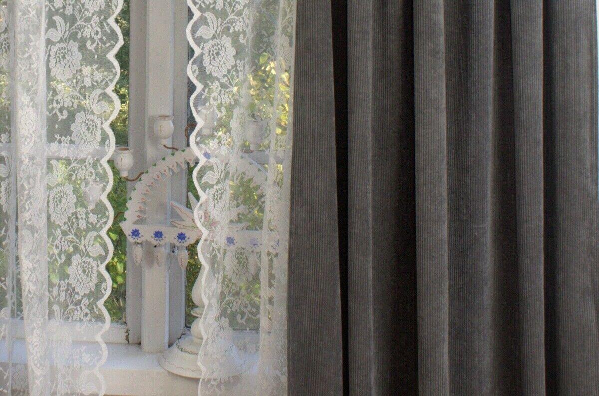 Full Size of Vorhänge Landhausstil Schweiz Vorhang Suna Samt Kord Grau 140x250 Cm 2 Stck Blickdicht Wohnzimmer Sofa Schlafzimmer Weiß Hotel Schweizer Hof Bad Füssing Wohnzimmer Vorhänge Landhausstil Schweiz
