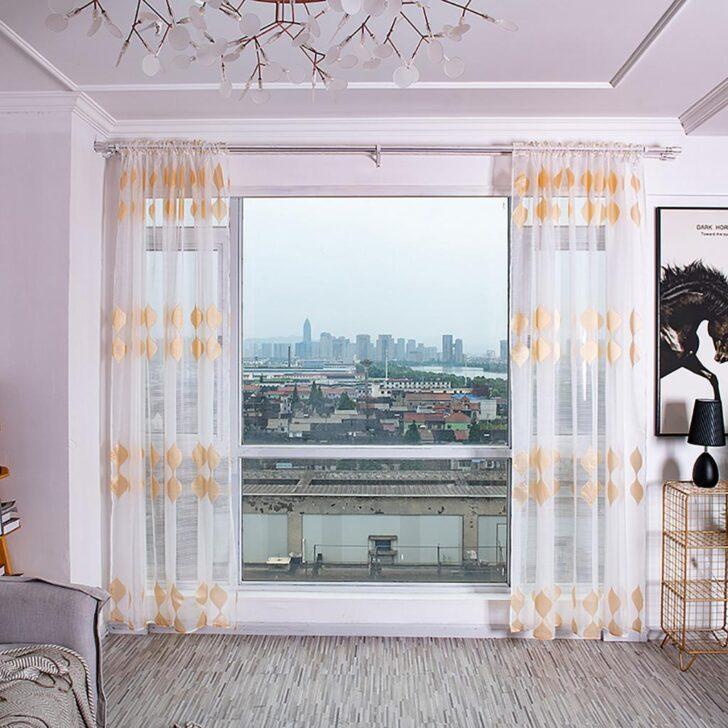 Medium Size of Küchenvorhang Bume Gardine Tll Fenster Behandlung Voile Drapieren Wohnzimmer Küchenvorhang