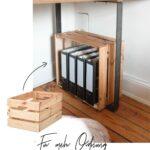 Mit Ikea Kisten Eine Ordnerkiste Selber Bauen Wohnklamotte Vorratsdosen Küche Segmüller Landhausküche Weiß Salamander Wandsticker Geräten Eiche Hell Wohnzimmer Küche Selber Bauen Ikea