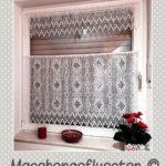 Gardinen Für Schlafzimmer Wohnzimmer Küche Die Gardine Scheibengardinen Fenster Wohnzimmer Häkelmuster Gardine
