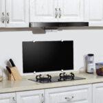 Küchenrückwand Laminat Trendline Kchenrckwand Glas Schwarz Globus Baumarkt Fürs Bad Küche Im In Der Für Badezimmer Wohnzimmer Küchenrückwand Laminat