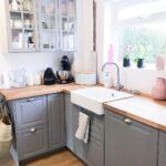 Ikea Landhausküche Grau Wohnzimmer Ikea Landhausküche Grau Grey Kitchen Dream Bodbyn A Modern Farmhouse 2er Sofa Regal Weiß Betten Bei Küche Kosten Hochglanz Mit Schlaffunktion Weisse