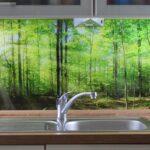 Küchen Glasbilder Kchenrckwand Kaufen Einscheibensicherheitsglas Esg Glasbild 6mm Regal Bad Küche Wohnzimmer Küchen Glasbilder