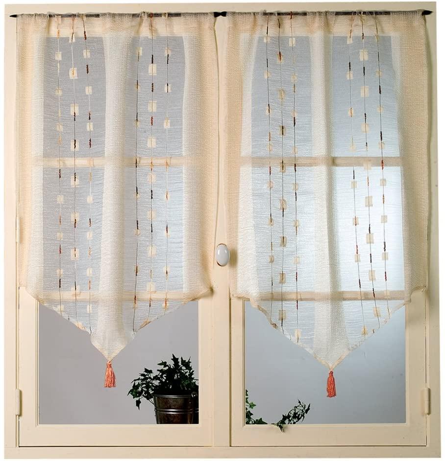 Full Size of Amazonde Home Maison Hm6922637 Gardinen Fr Doppelfenster Für Die Küche Schlafzimmer Scheibengardinen Fenster Wohnzimmer Wohnzimmer Gardinen Doppelfenster