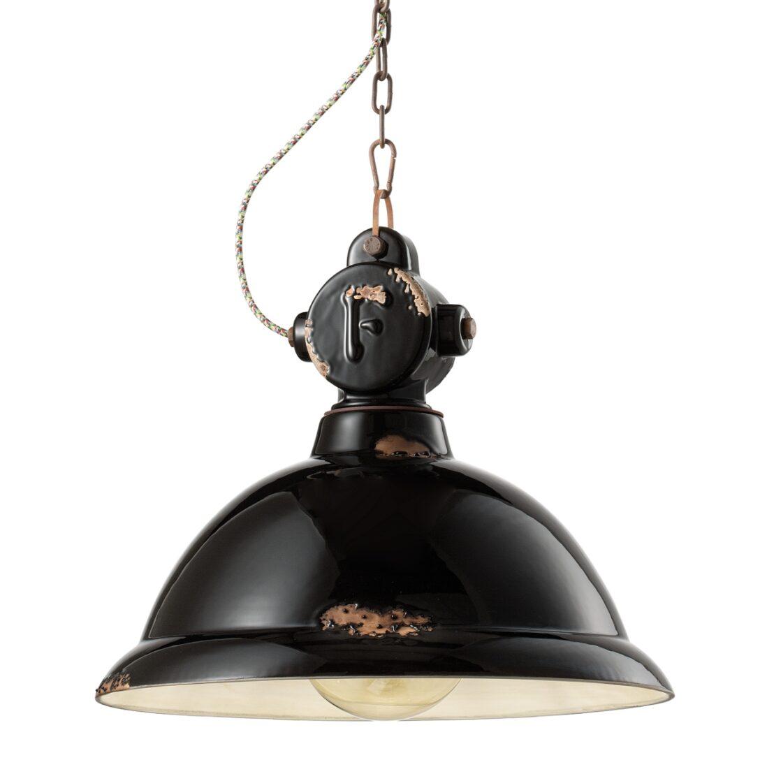 Large Size of Deckenlampe Industrial Deckenleuchte Mit Gitter Im Stil Einer Alten Fabriklampe Deckenlampen Für Wohnzimmer Küche Esstisch Schlafzimmer Wohnzimmer Deckenlampe Industrial