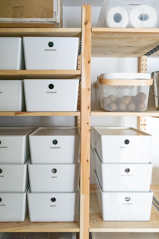 Full Size of Ikea Vorratsschrank Ordnungssystem Mit Tipps Fr Aufbewahrung In Abstellraum Und Kche Küche Kaufen Miniküche Betten 160x200 Kosten Modulküche Sofa Wohnzimmer Ikea Vorratsschrank