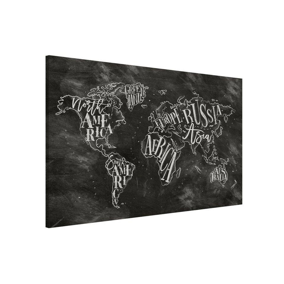 Full Size of Bilderwelten Magnettafel Memoboard Querformat 23 Kreide Einbauküche Kaufen Eckküche Mit Elektrogeräten Polsterbank Küche Eckunterschrank Servierwagen Wohnzimmer Magnettafel Küche Vintage