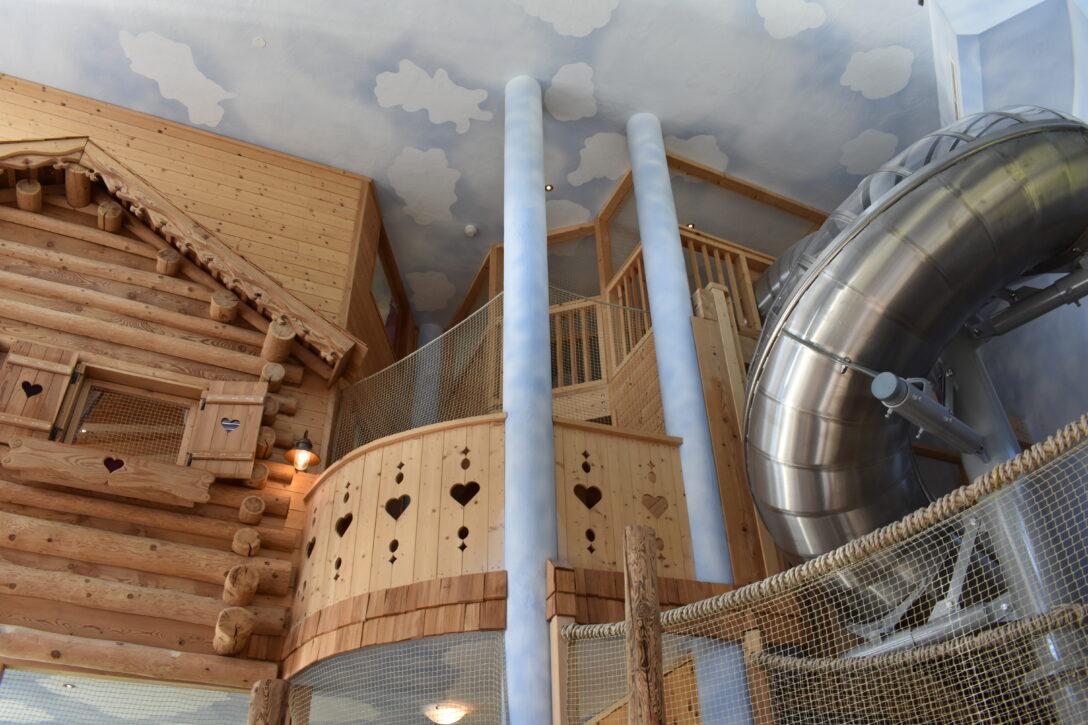 Large Size of Klettergerüst Indoor Diy Wellness Mit Kindern Unser Kurzurlaub Im Bergossene Alm Resort Garten Wohnzimmer Klettergerüst Indoor Diy