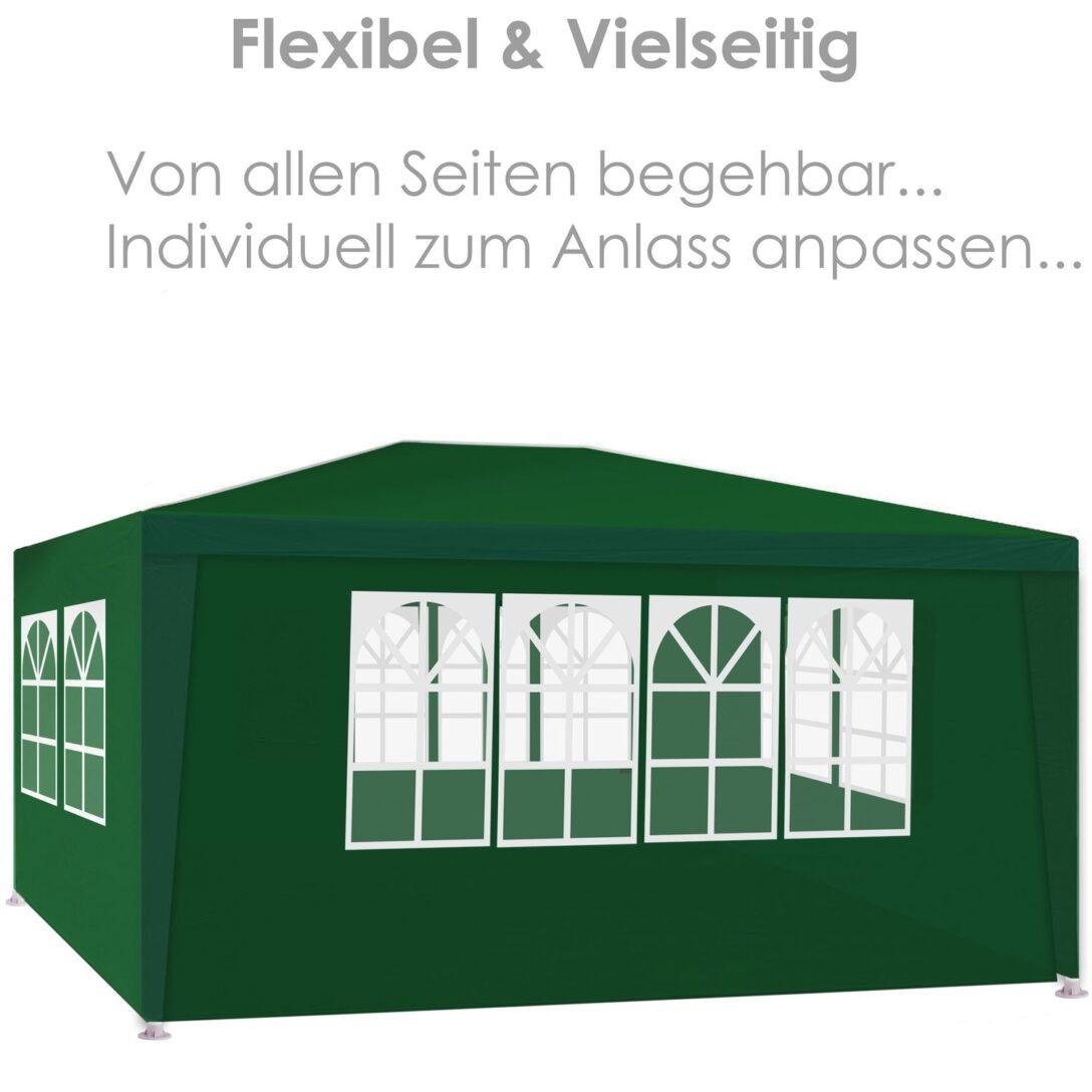 Large Size of Terrassen Pavillon Aluminium Winterfest Freistehend Metall Wasserdicht Terrasse Bauhaus Alu Kaufen Obi Test Pergola Gestell Kesser Festzelt 3x4m Mit 4 Wohnzimmer Terrassen Pavillon