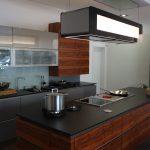 Sachsenkchen Ausstellungskche Inselform Wohnzimmer Ausstellungsküchen