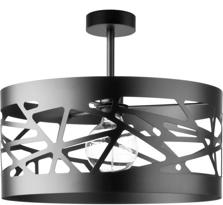 Deckenlampe Modern Schwarze Deckenleuchte Breiter Schirm Modernes Design Wohnzimmer Moderne Bilder Fürs Sofa Esstische Bett Tapete Küche Deckenlampen Für Wohnzimmer Deckenlampe Modern
