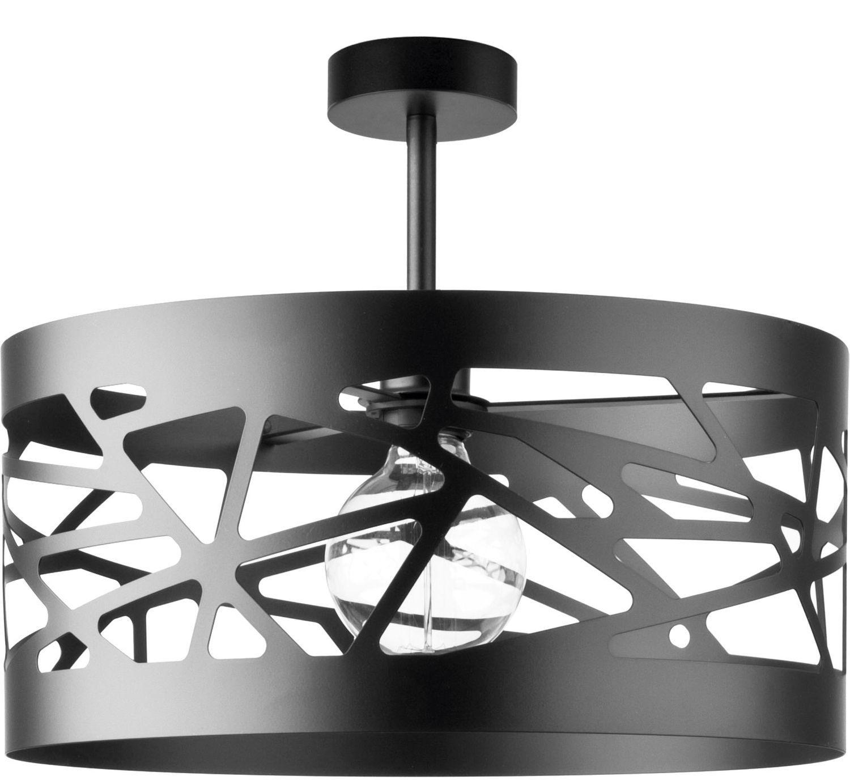 Full Size of Deckenlampe Modern Schwarze Deckenleuchte Breiter Schirm Modernes Design Wohnzimmer Moderne Bilder Fürs Sofa Esstische Bett Tapete Küche Deckenlampen Für Wohnzimmer Deckenlampe Modern