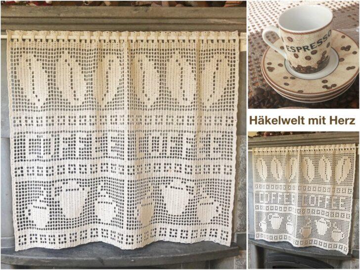 Medium Size of  Wohnzimmer Küchegardinen Häkeln Anleitung