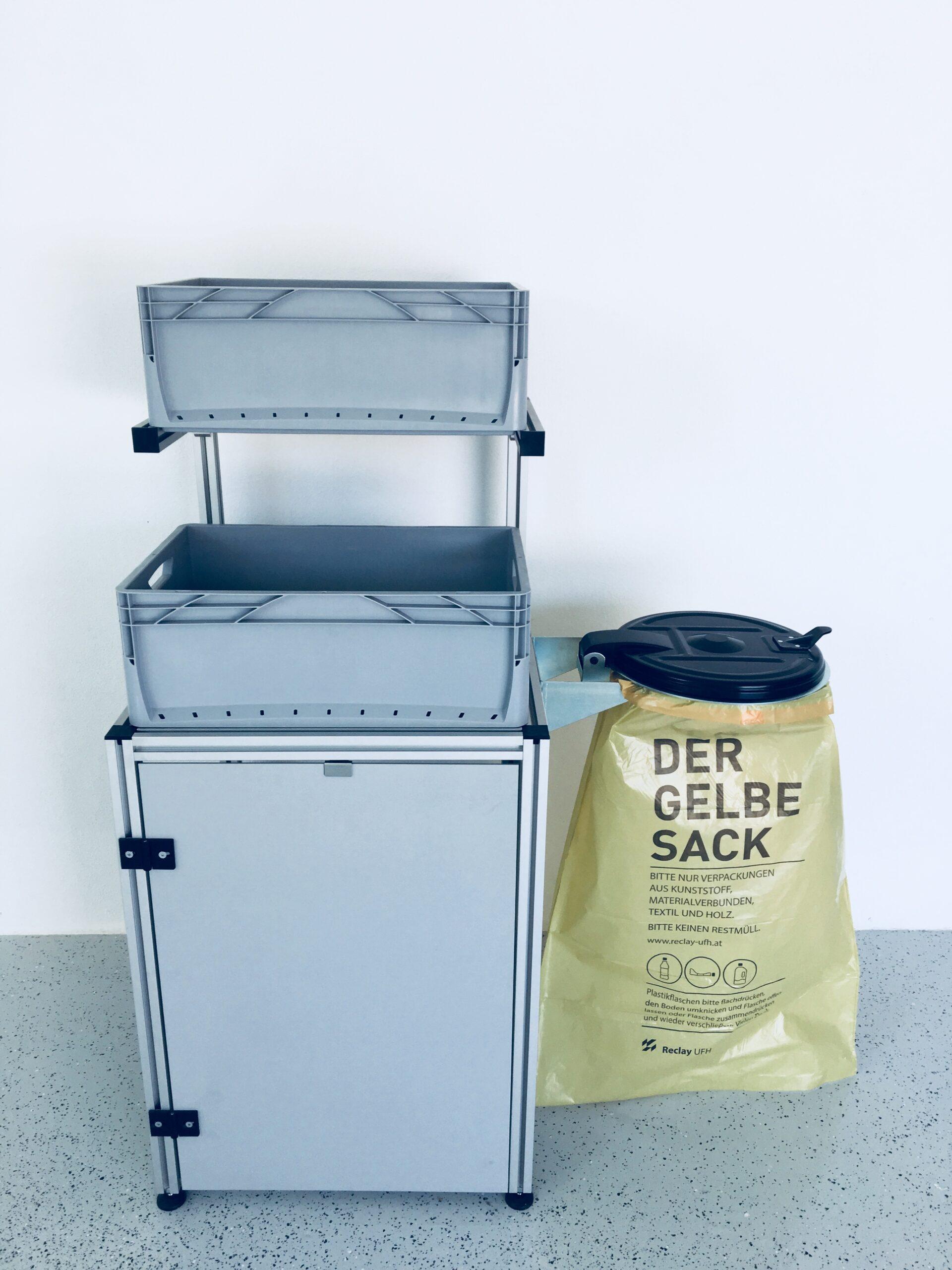 Full Size of Müllsystem Teco Mllsammelsystem I Profiltechnik Technoco Laser Küche Wohnzimmer Müllsystem