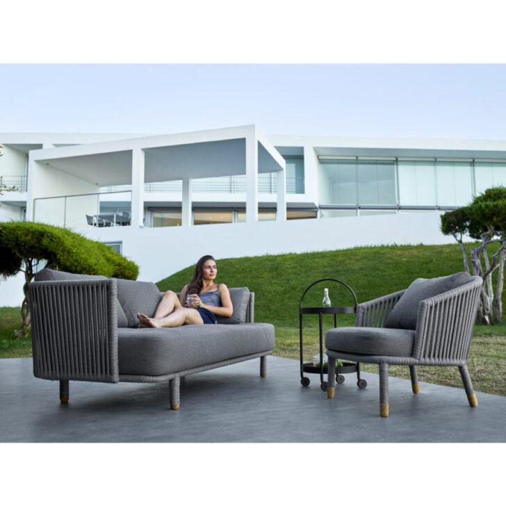 Cane Line Moments Loungesofa Modernes Bett 180x200 Garten Loungemöbel Günstig Sofa Moderne Landhausküche Modern Design Outdoor Küche Edelstahl Holz Wohnzimmer Modern Loungemöbel Outdoor