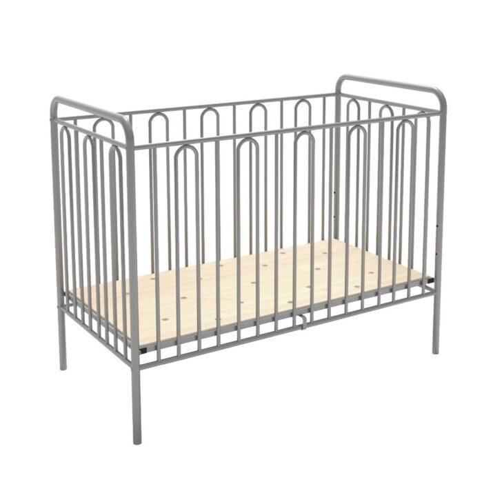 Medium Size of Babybett Schwarz Gitterbett Kinderbett Aus Metall Polini Real Schwarzes Bett Weiß 180x200 Schwarze Küche Wohnzimmer Babybett Schwarz