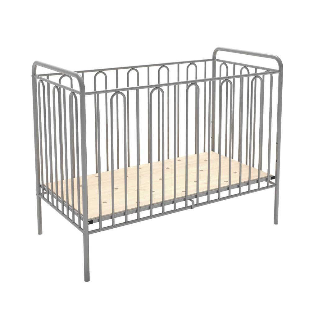 Full Size of Babybett Schwarz Gitterbett Kinderbett Aus Metall Polini Real Schwarzes Bett Weiß 180x200 Schwarze Küche Wohnzimmer Babybett Schwarz