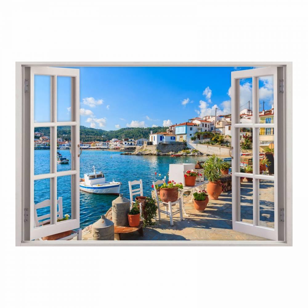 Full Size of Wohnzimmer Wandbild 154 Wandtattoo Fenster Mediterran Mittelmeer Toskana Deckenlampe Wandtattoos Vorhänge Gardine Indirekte Beleuchtung Sofa Kleines Lampe Wohnzimmer Wohnzimmer Wandbild