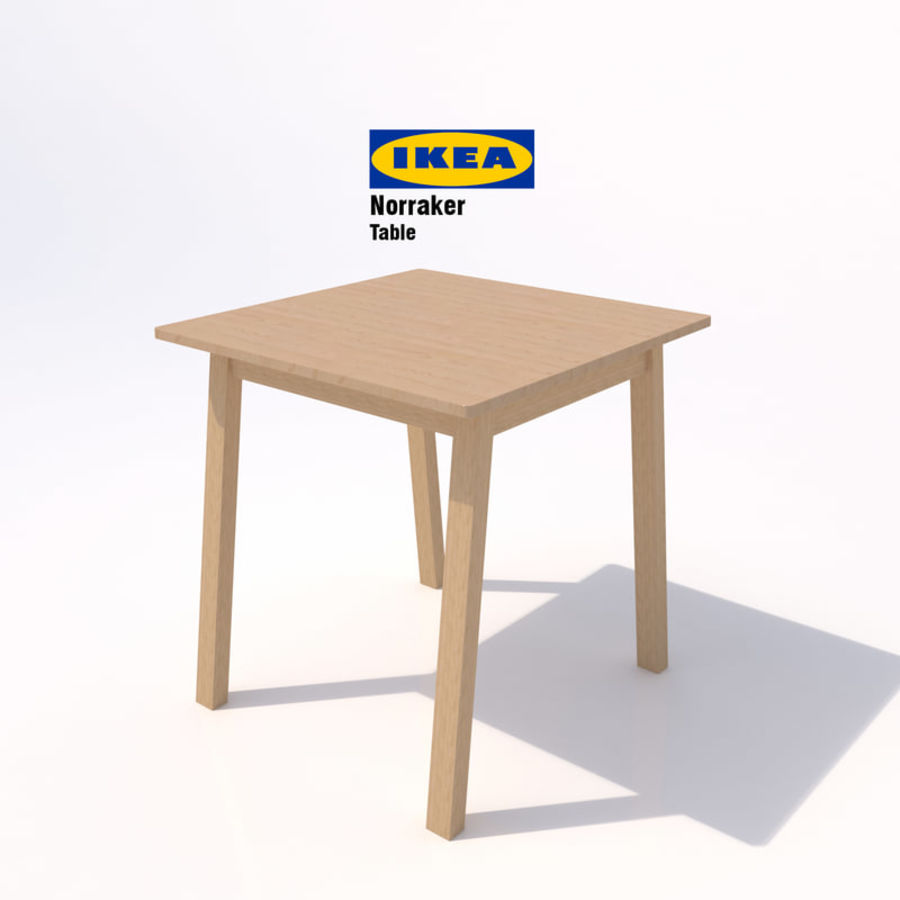 Full Size of Ikea Norraker Tisch 02 3d Modell 15 Unknown Obj Mafbx Modulküche Küche Kosten Betten 160x200 Bei Sofa Mit Schlaffunktion Kaufen Miniküche Bartisch Wohnzimmer Ikea Bartisch