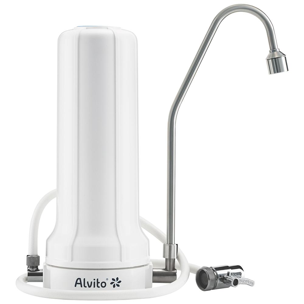 Full Size of Alvito Auftisch Wasserfilter Pro Typ D Zum Anschluss Am Wasserhahn Bad Küche Wandanschluss Für Wohnzimmer Wasserhahn Anschluss