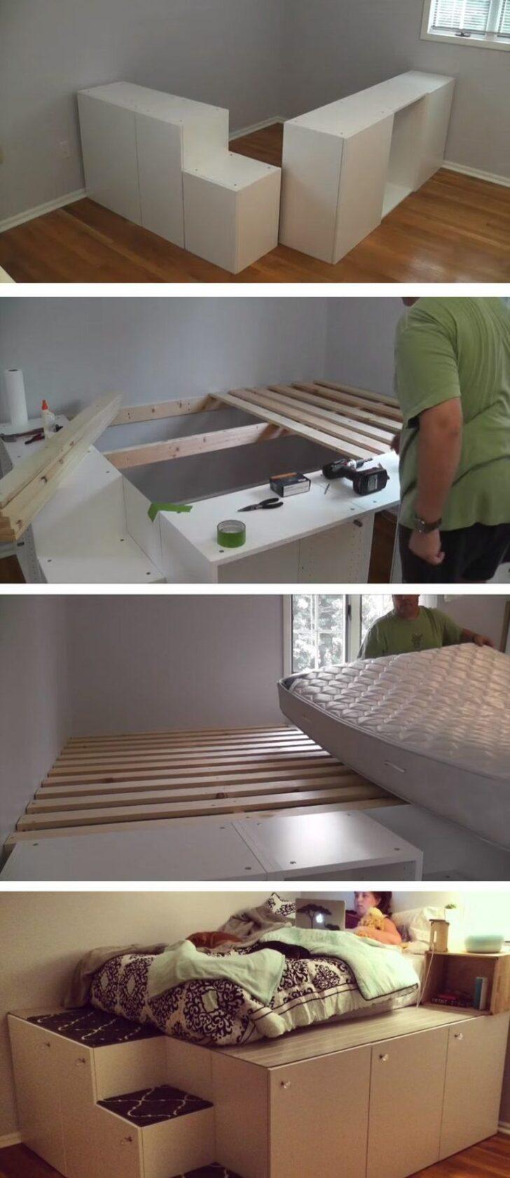 Medium Size of Podestbett Selber Bauen Ikea Bedroom Diy Betten 160x200 Sofa Mit Schlaffunktion Küche Kaufen Bei Modulküche Miniküche Kosten Wohnzimmer Podestbett Ikea
