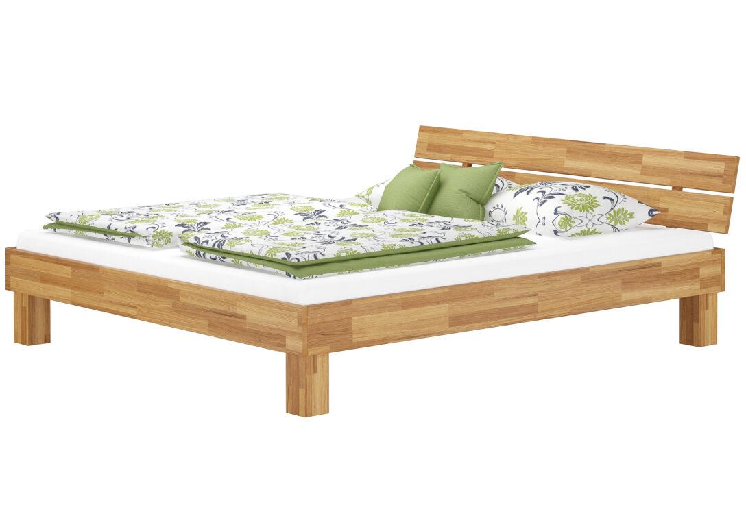 Large Size of Komplettbett 180x220 Eiche Massivholz Doppelbett 180x200 Mit Durchgehender Matratze Bett Wohnzimmer Komplettbett 180x220