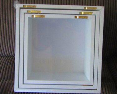 Cube Regal Weiß Hochglanz Wohnzimmer Cube Regal Weiß Hochglanz 3er Set Wand Hnge Regale Holz Wei 30 27 24 Cm In Gebrauchte Bad Hängeschrank 40 Breit Bücher Schmales Badezimmer Hochschrank Mit