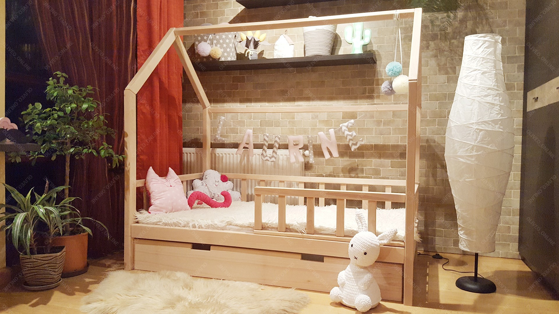 Full Size of Bett Hausbett Buchenholz 100 200cm Hause 100x200 Betten Weiß Wohnzimmer Hausbett 100x200