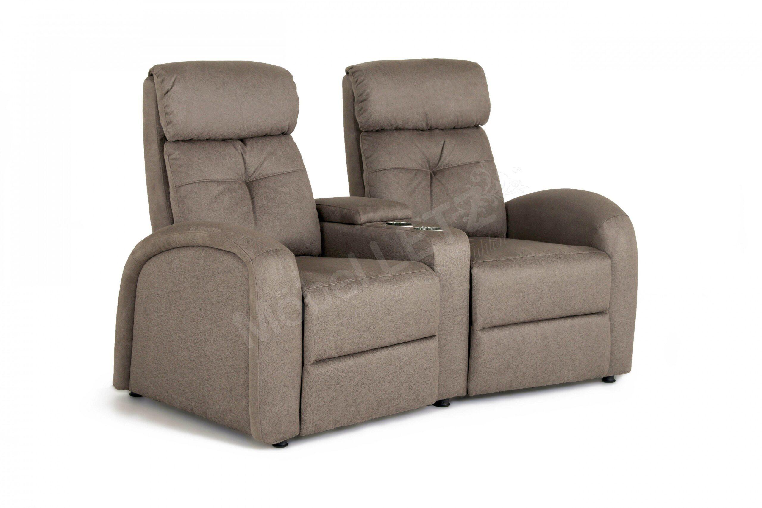 Full Size of Kinosessel 2er Microfaser Procom Houston Schlamm Mbel Letz Ihr Online Shop Sofa Grau Wohnzimmer Kinosessel 2er Microfaser