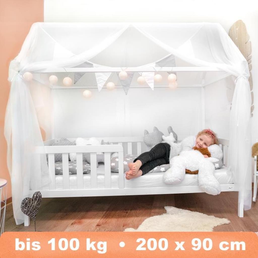 Full Size of Alcube Hausbett 200x90 Cm Stabiles Kinderbett Holz Real Betten 100x200 Bett Weiß Wohnzimmer Hausbett 100x200