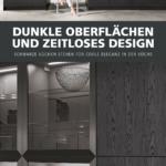 Nobilia Alba Wohnzimmer Nobilia Alba Modernes Kchendesign Trifft Auf Dunkle Tne Das Elegante Dekor Einbauküche Küche