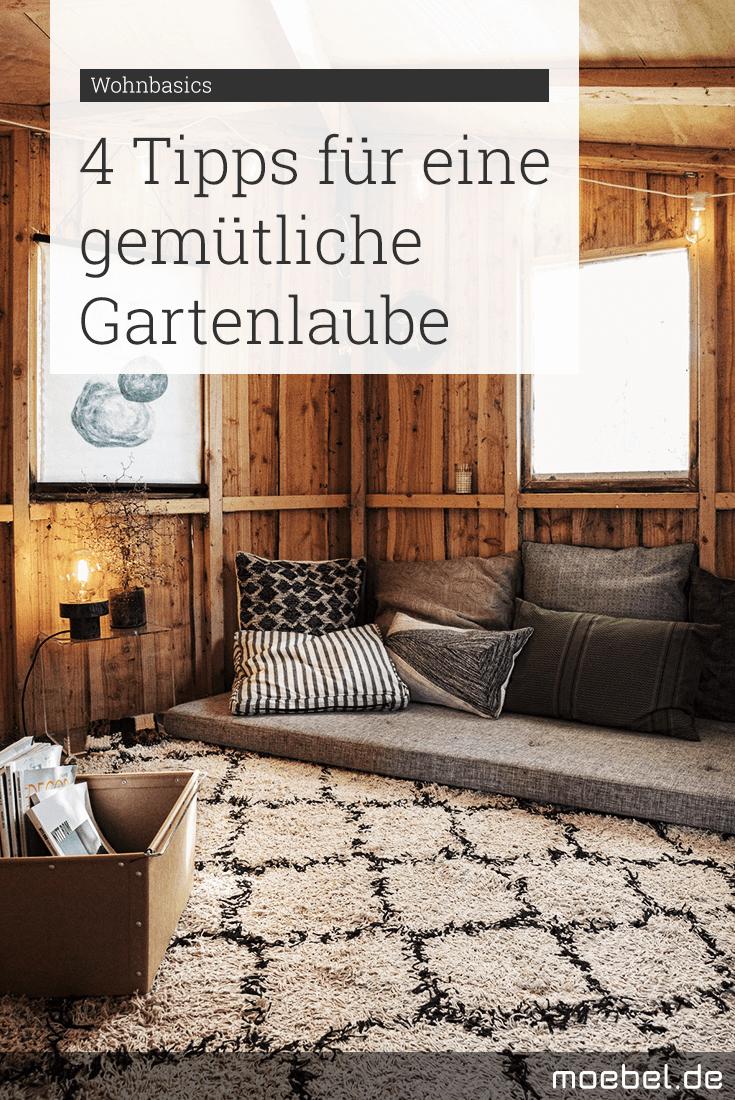 Full Size of So Wird Gartenlaube Gemtlich Ist Das Neue Wohnzimmer Moebel.de