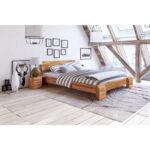 Komplettbett 180x220 Seti High Doppelbett Berlnge Kernbuche Massiv Gnstig Im Bett Wohnzimmer Komplettbett 180x220