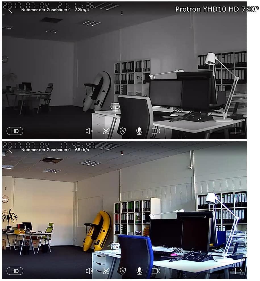 Full Size of Protron W20 Ip Kamera Wifi Wlan Berwachungskamera Cam Hd 720p 1mp Yoosee Mit Wohnzimmer Protron W20