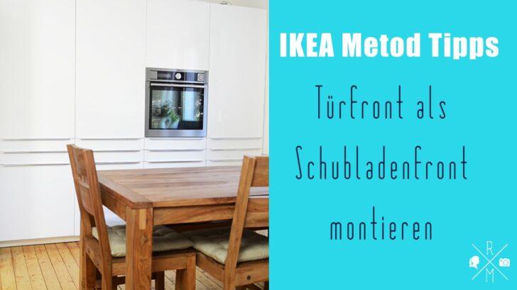 Ikea Metod Aufbautricks Tr Als Schubladenfront Rezepte Einzelschränke Küche Wellmann Einbauküche Günstig Landhaus Eiche Spüle Kinder Spielküche Laminat Wohnzimmer Eckunterschrank Küche 60x60 Ikea
